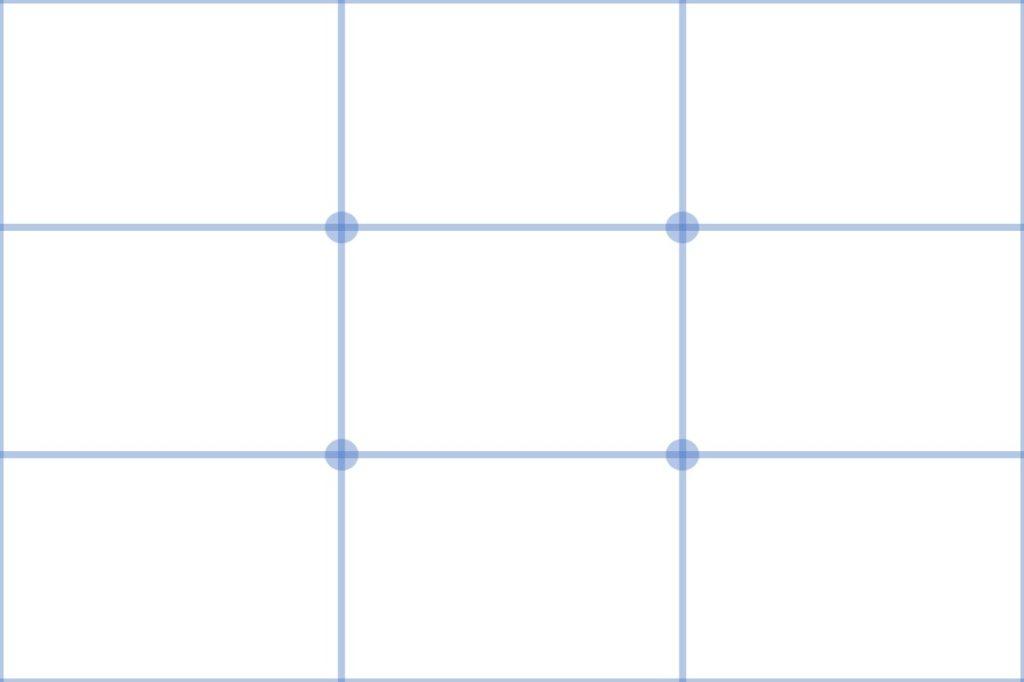 三分割構図
