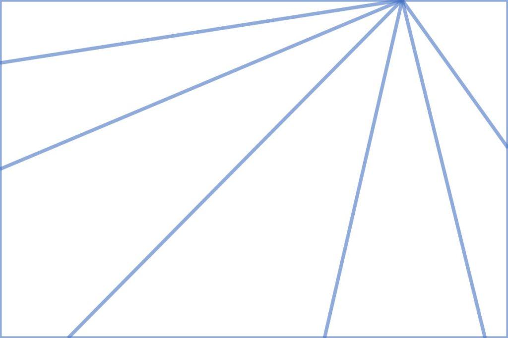 放射状構図