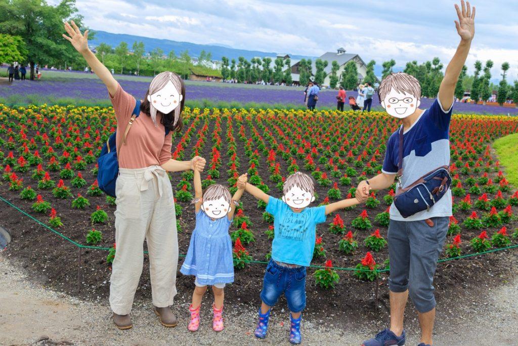 家族写真は構図が重要!家族写真の撮り方