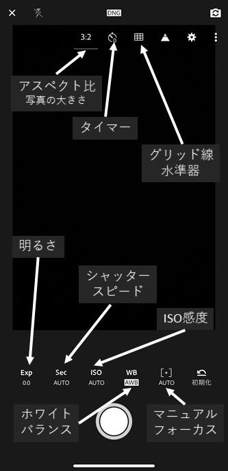 撮影モード(プロ)